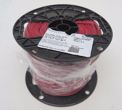 New Rollspool General Cable Red 14 Awg 14awg Str 500 600v Copperthnn Wire