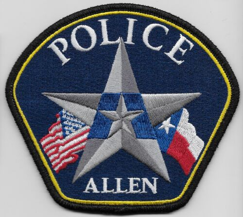 Allen Police State Texas TX NEW NEAT