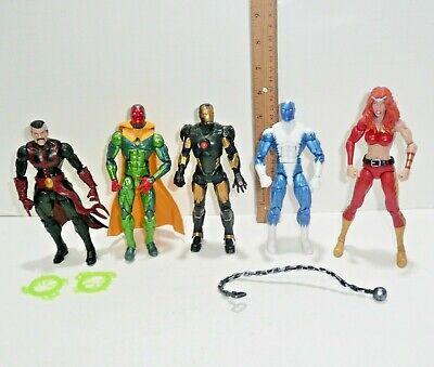 Marvel Legends Hulkbuster BAF Wave Figure Lot Iron Man Vision Thundra Sr Strange