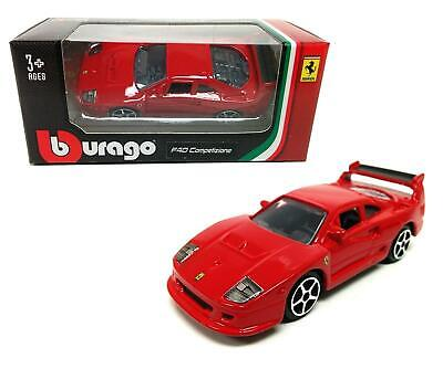 Ferrari F40 Competizione Bburago 1:64 Diecast Model Car - Bburago 56100*