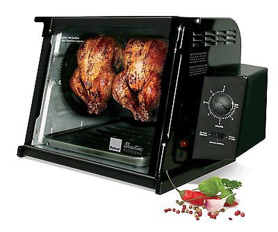 Ronco St4000blgen Showtime 4000 Series Rotisserie New