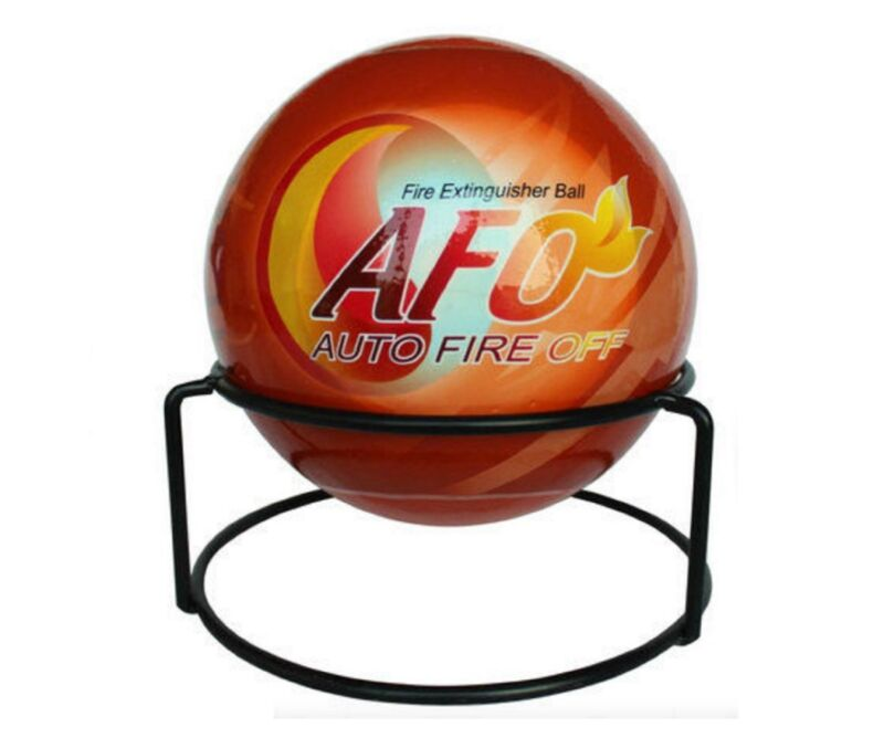 AFO Fire Extinguisher Ball Auto-Ignition ABCDE EU for high risk + secluded areas