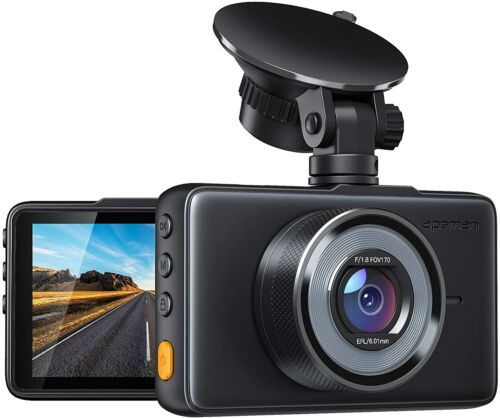 "New APEMAN C450 Dash Camera 1080P FHD DVR Car Driving Recorder 3"" LCD Screen Cam"