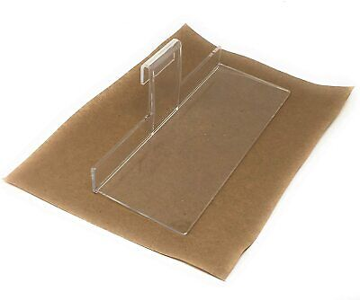 Clear Acrylic Gridwall Shelves 4 Inches Deep X 10 Inches Wide Set Of 4