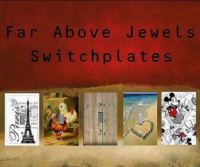 FAR ABOVE JEWELS SWITCHPLATES