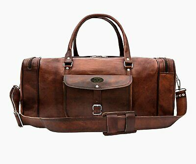 Best Carry On Travel Bags (Leather Weekender Over sized Travel Duffel Bag Best Gift For This Parents Day )
