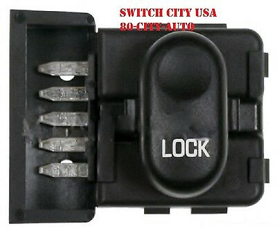 Buick Century Power Door Lock - OEM Buick Century Regal Front Passenger Power Door Lock Switch 10268253