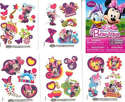 Pack Of 25 Temporary Tattoos Great Party Favors Your Choice Disney Or Marvel New on Rummage