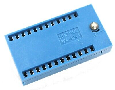 224-4844 Textool 24 Pin Zifzip Socket Screwhead Lock.
