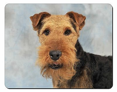 Welsh Terrier Dog Computer Mouse Mat Christmas Gift Idea, AD-WT1M