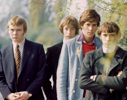 THE BEE GEES - MUSIC PHOTO #E-123