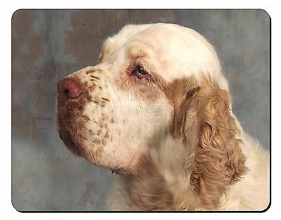 Clumber Spaniel Dog Computer Mouse Mat Christmas Gift Idea, AD-CS1M