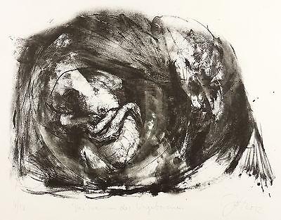 JOHANNES HEISIG - Crow - Der Traum des Ungeborenen - Lithografien 2012