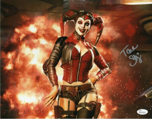 Tara Strong Autograph Signed 11x14 Photo - Harley Quinn (JSA COA)