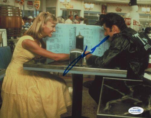 John Travolta Grease Autographed Signed 8x10 Photo COA