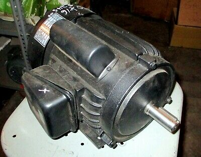 2 Hp Motor From 10 X 16 Metal Cutting Band Saw-low Rpm New-slight Ding.