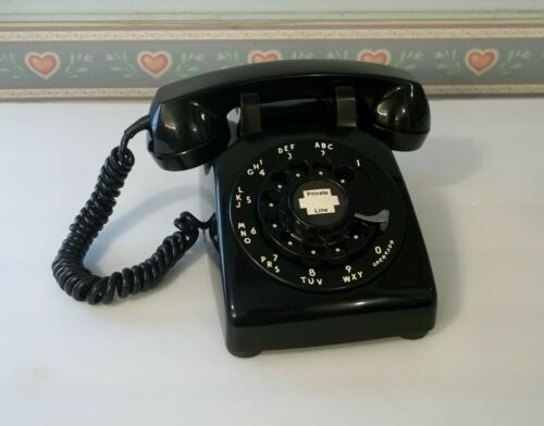 Vintage Phone Western Electric Bell System 500 Rotary Dial RESTORED !