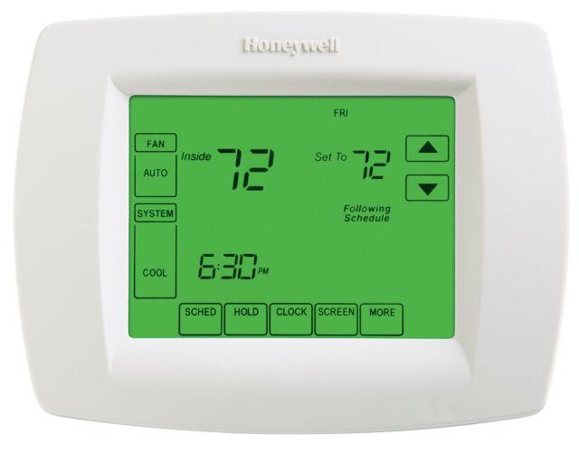 honeywell th8320u1008 7day vision pro 8000 touchscreen programmable rh ebay co uk honeywell visionpro 8000 owners manual honeywell visionpro 8000 thermostat user manual