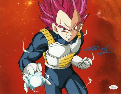"Chris Sabat Autograph Signed 11x14 Photo - Dragon Ball Z ""Vegeta"" (JSA COA)"