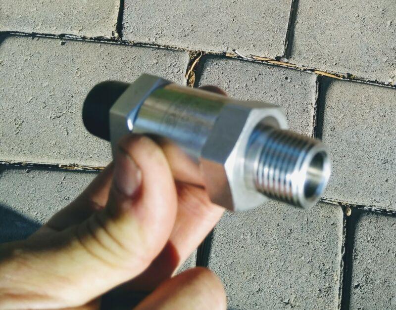 Parker Hannifin hydraulic check valve, 5000 psi, 1/2in npt