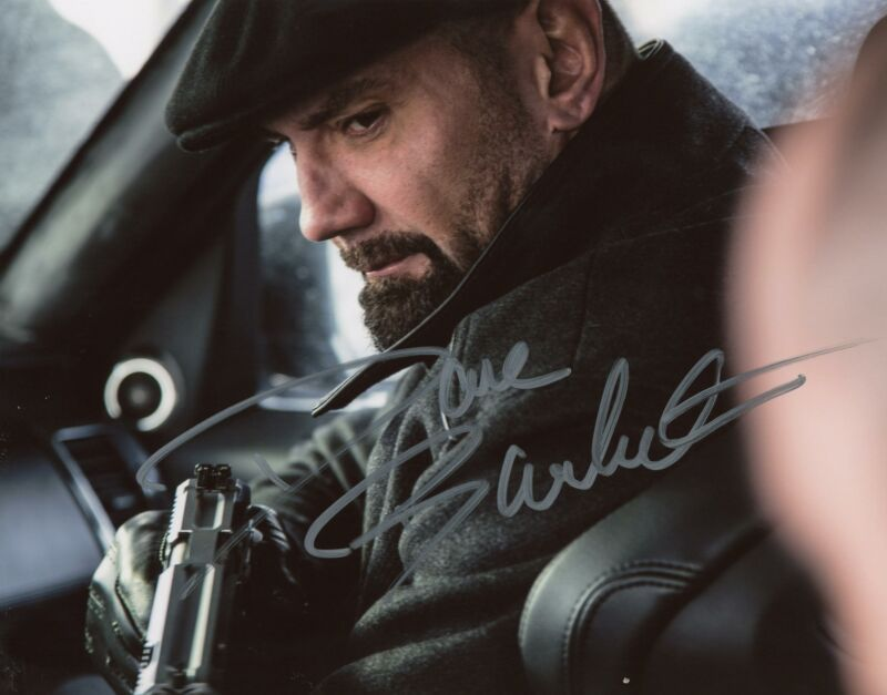 "Dave Bautista ""007 Spectre"" AUTOGRAPH Signed 8x10 Photo ACOA"