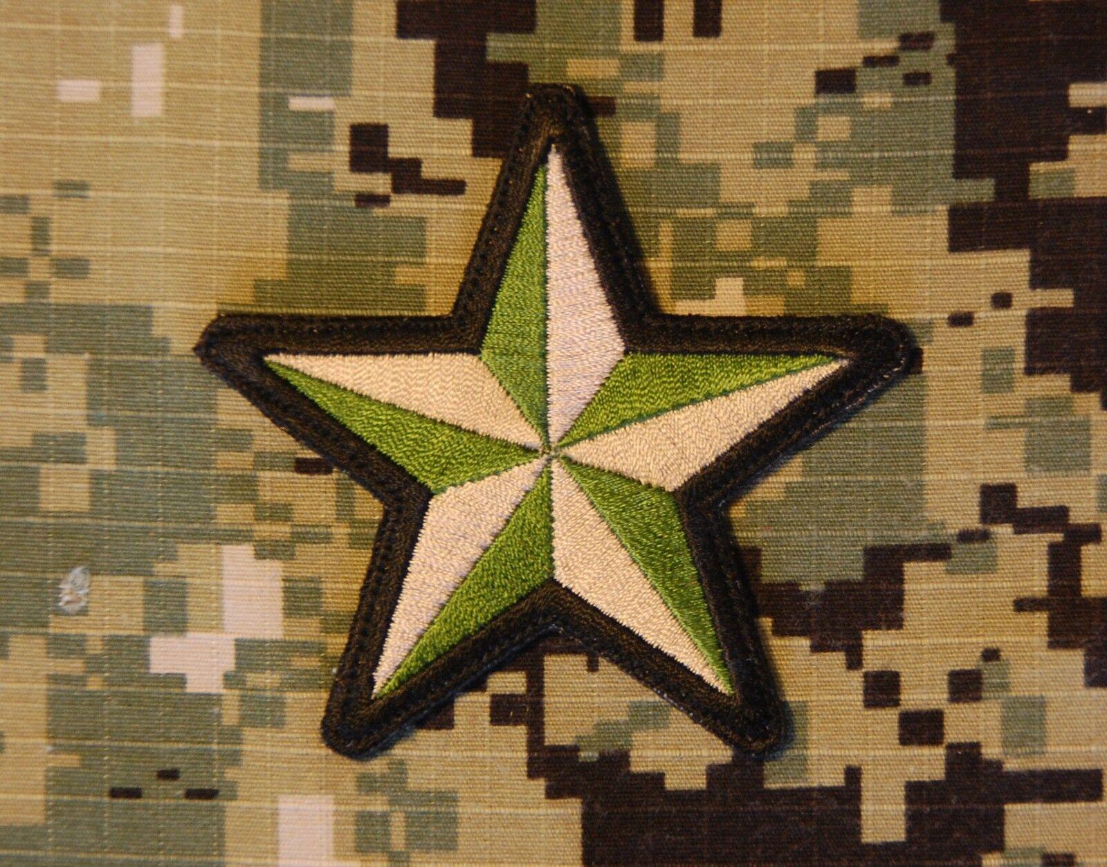 Nautical Star US Navy USN USMC AOR1 NWU Type II MARPAT NSW SEAL Morale Patch