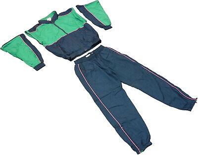 80er Retro Trainingsanzug Kostüm Verkleidung Karneval Jogginganzug - Grünen Anzug Kostüme