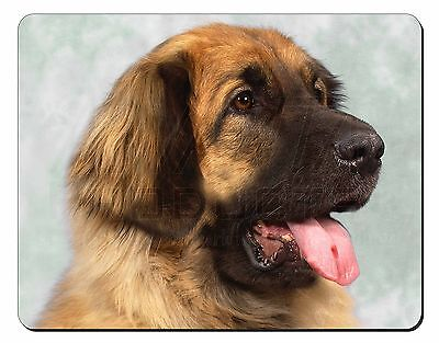 Blonde Leonberger Dog Computer Mouse Mat Christmas Gift Idea, AD-LE1M