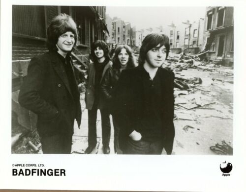 Lot of 3 different BADFINGER 8x10 Black & White Photographs MINT