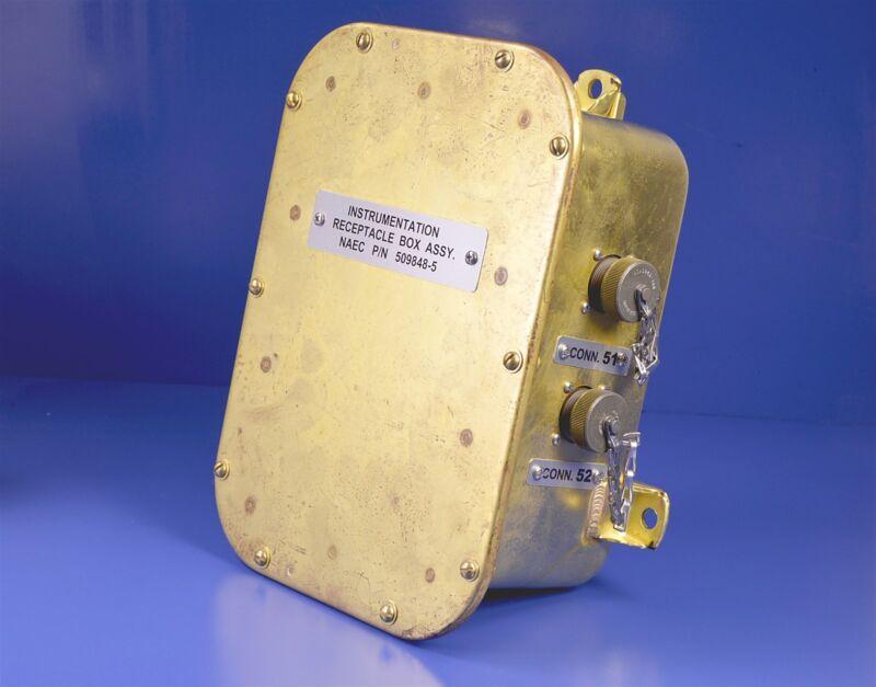 Navy Instrumentation Receptacle Box Assy. P/N: 509848-5
