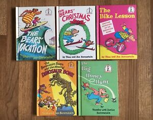5 vintage Berenstain Bears I Can Read All By Myself books