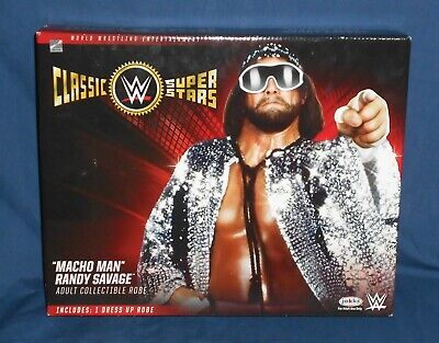 WWE MACHO MAN RANDY SAVAGE Adult Replica Robe Halloween Costume Cosplay NEW