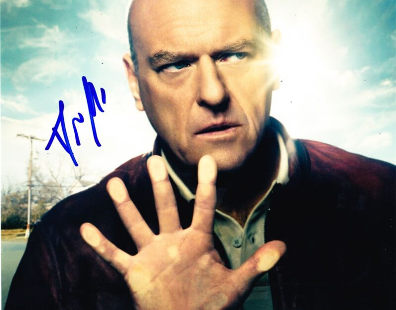 DEAN NORRIS SIGNED 8X10 PHOTO AUTHENTIC AUTOGRAPH BREAKING BAD HANK UNDER DOME E