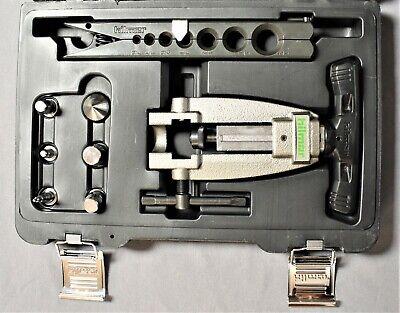 Hilmor Flare Swage Kit Hvac Metal Tubing Tool 316 To 34 Quick Engage 1838947