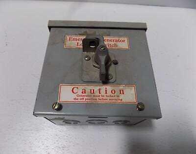 Emergency Generator Load Switch
