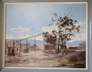 Painting Margaret Hunter Sawmill Aranda Belconnen Area Preview