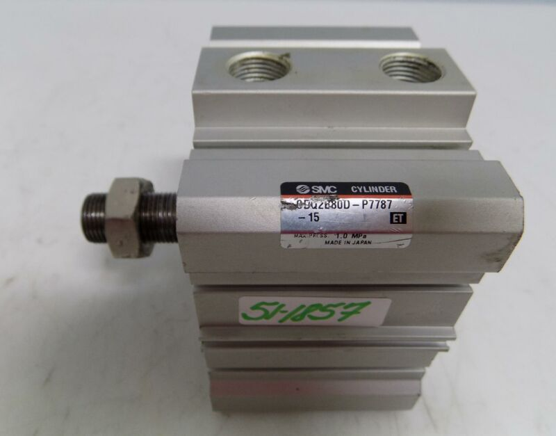 SMC COMPACT PNEUMATIC CYLINDER CDQ2B80D-P7787-15
