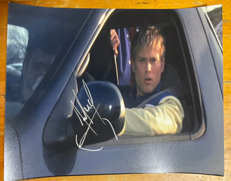 Jacob Young Signed 8x10 Photo All My Children Blue Driving