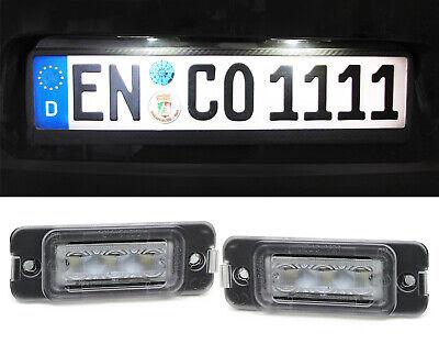 LED Kennzeichenbeleuchtung weiß 6000K für Mercedes ML W164 08-11 GL X164 R W251