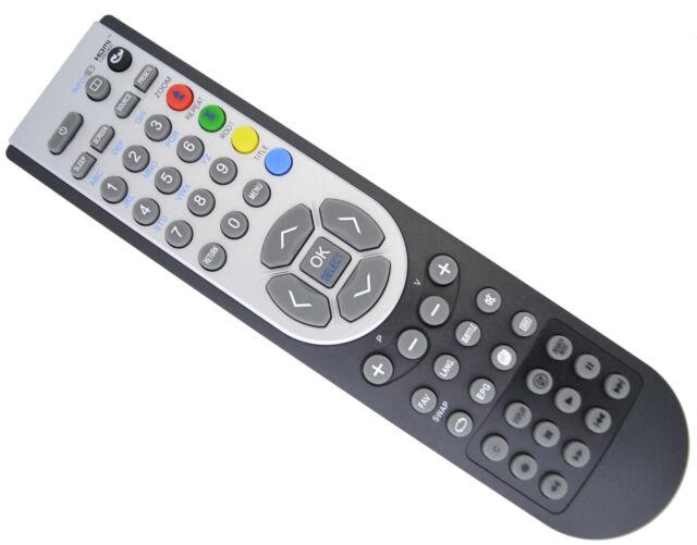 Bush TV Remote Control For LED26982DVDHD , LED-26982-DVDHD , LED-26982DVDHD
