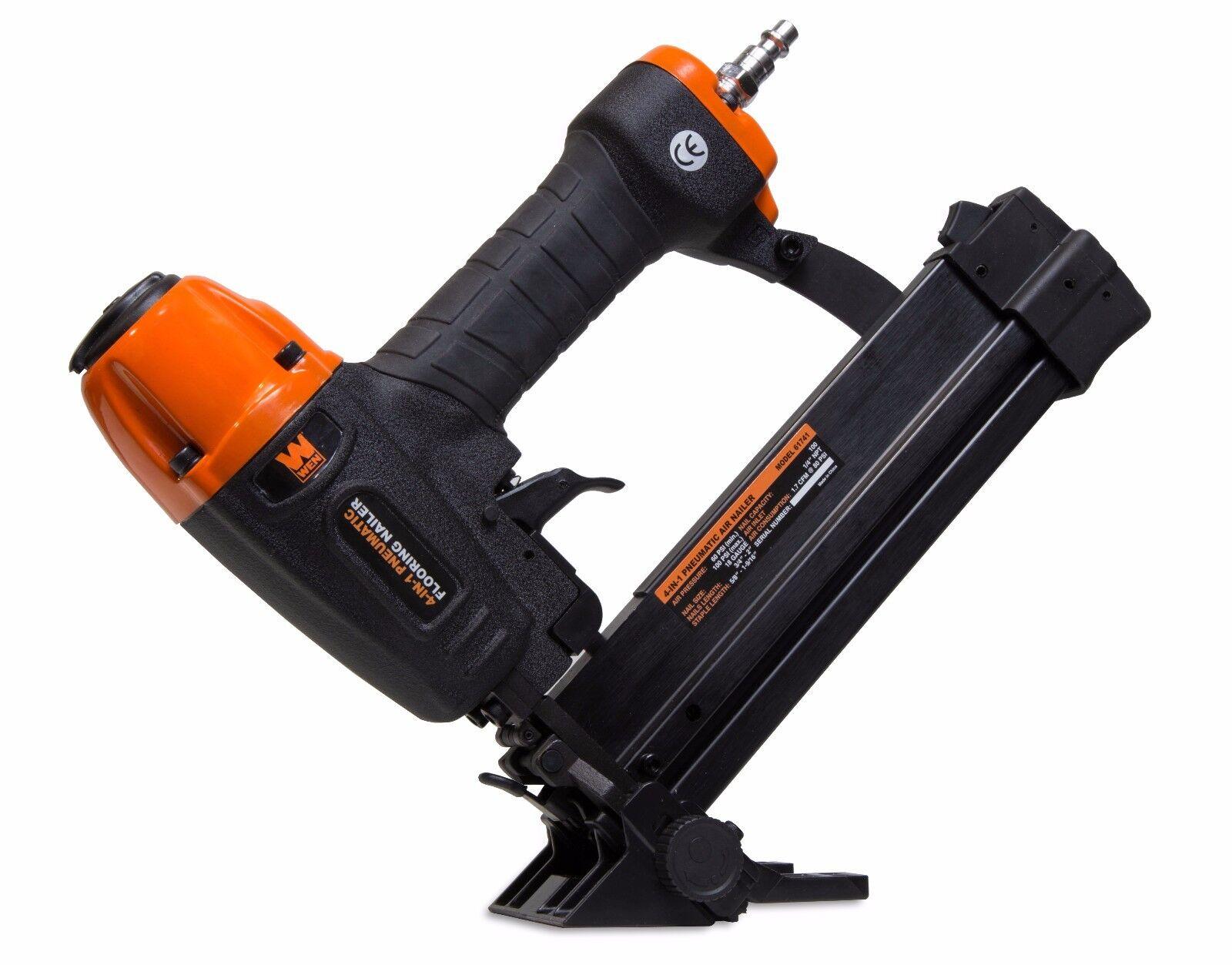 Air floor stapler 18 gauge taurus hexa striker battery