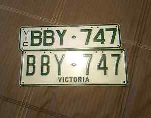 Personalised  number plates BBY-747 Caroline Springs Melton Area Preview