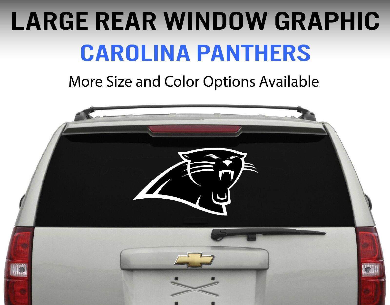 Uni Panthers Vinyl Car Window and Laptop Decal Sticker