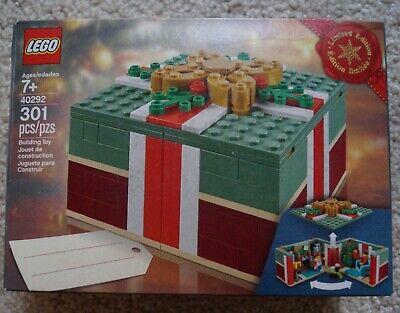 NEW LEGO 40292 Limited Edition Holiday set CHRISTMAS GIFT BOX NIB/Sealed