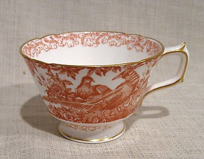 Royal Crown Derby Red Aves Cup  Aves-cup