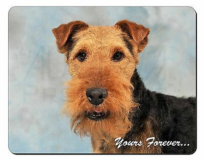 Welsh Terrier 'Yours Forever' Computer Mouse Mat Christmas Gift Idea, AD-WT1yM
