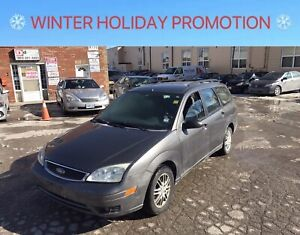 2005 Ford Focus ZXW. ~AUTOMATIC, LOADED, FULLY CERTIFIED~