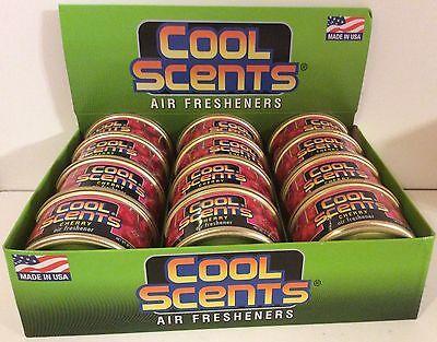 Air Fresheners 12 Cans California Cool