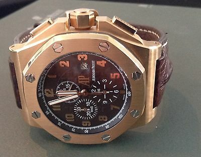Offshore Star - Audemars Piguet Arnold All Stars Offshore 18K Rose Gold Chronograph Watch