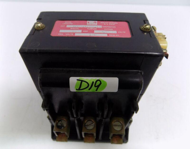 WARD 75A 500DCV CONTACTOR 5002-5004-11